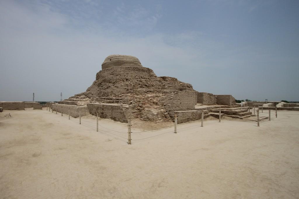 Mohenjo-Daro Archaeological Site, Pakistan.