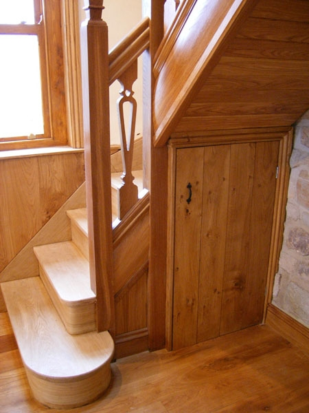 stairs cupboard