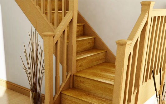 L-Shaped Staircase
