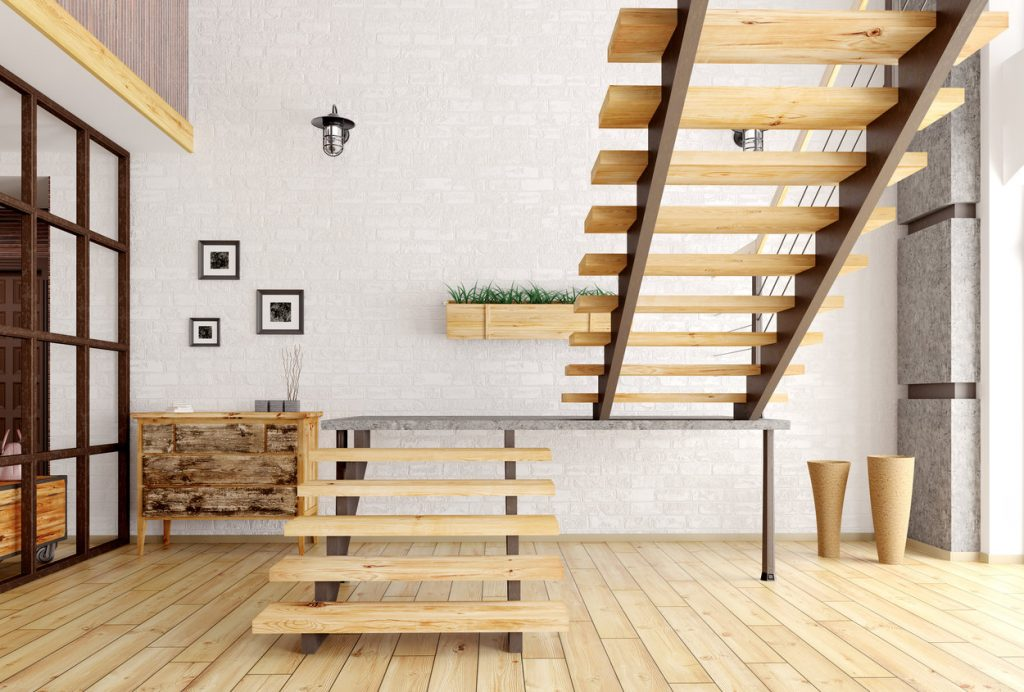L-Shaped Stairs