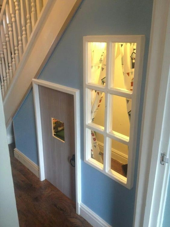 Secret Playroom Under Stairs