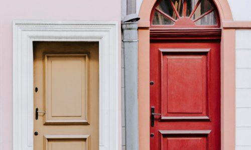 Double Panelled Doors